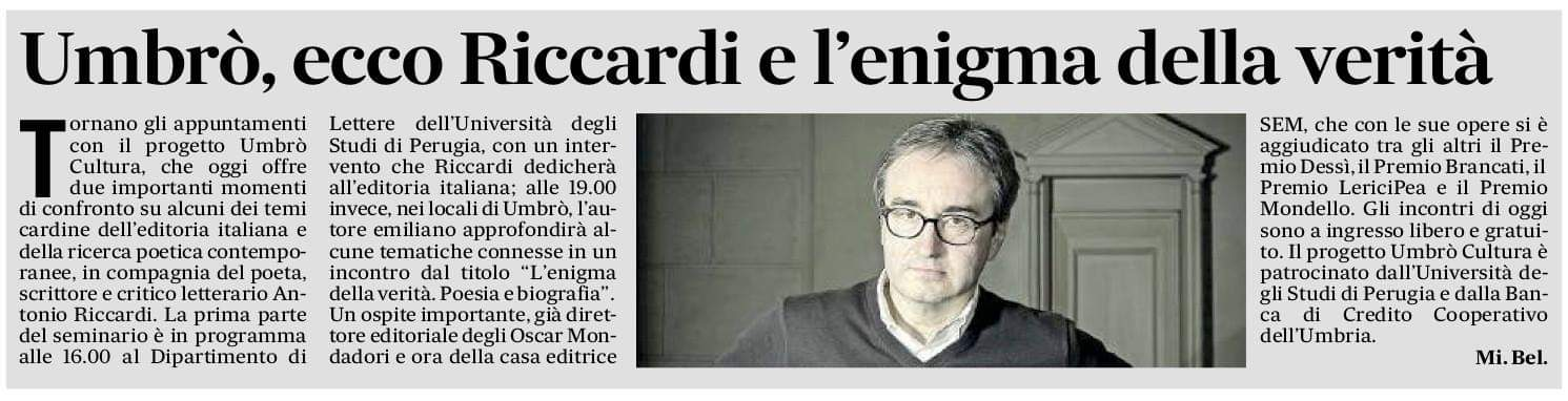 Il Messaggero, 22-01-2019